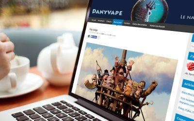 Danyvape, le blog des pirates de la vape sur Internet