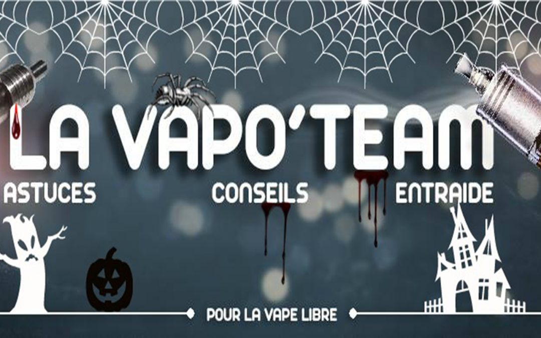 Vapotage sur le groupe Facebook Vapo'Team