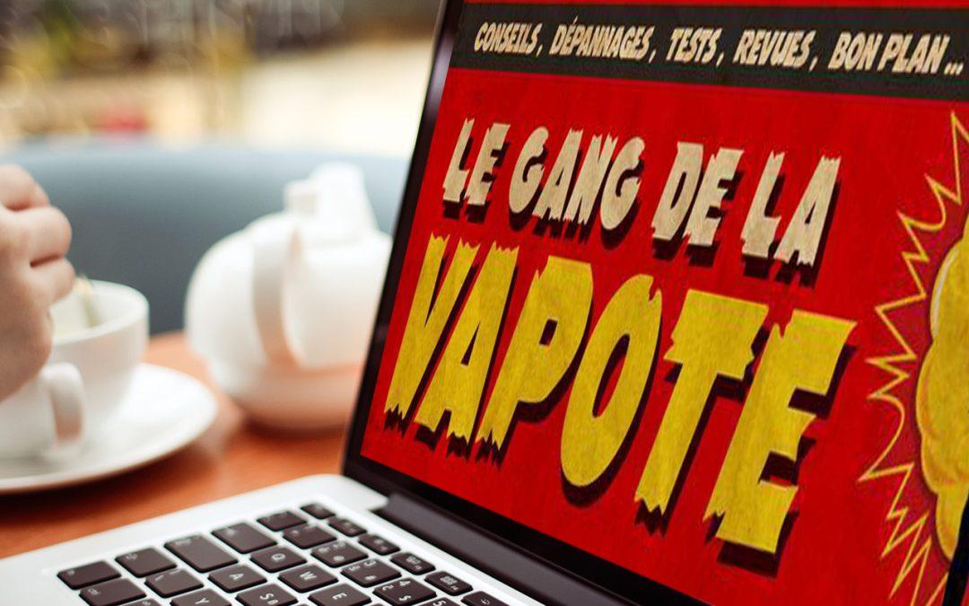 Sympa et animé, le Gang de la Vapote sur Facebook