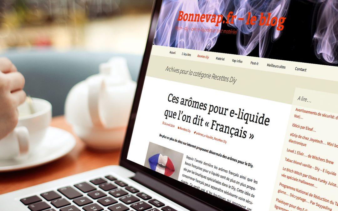 Bonnevap.fr, le blog sympa d'un vapoteur heureux !