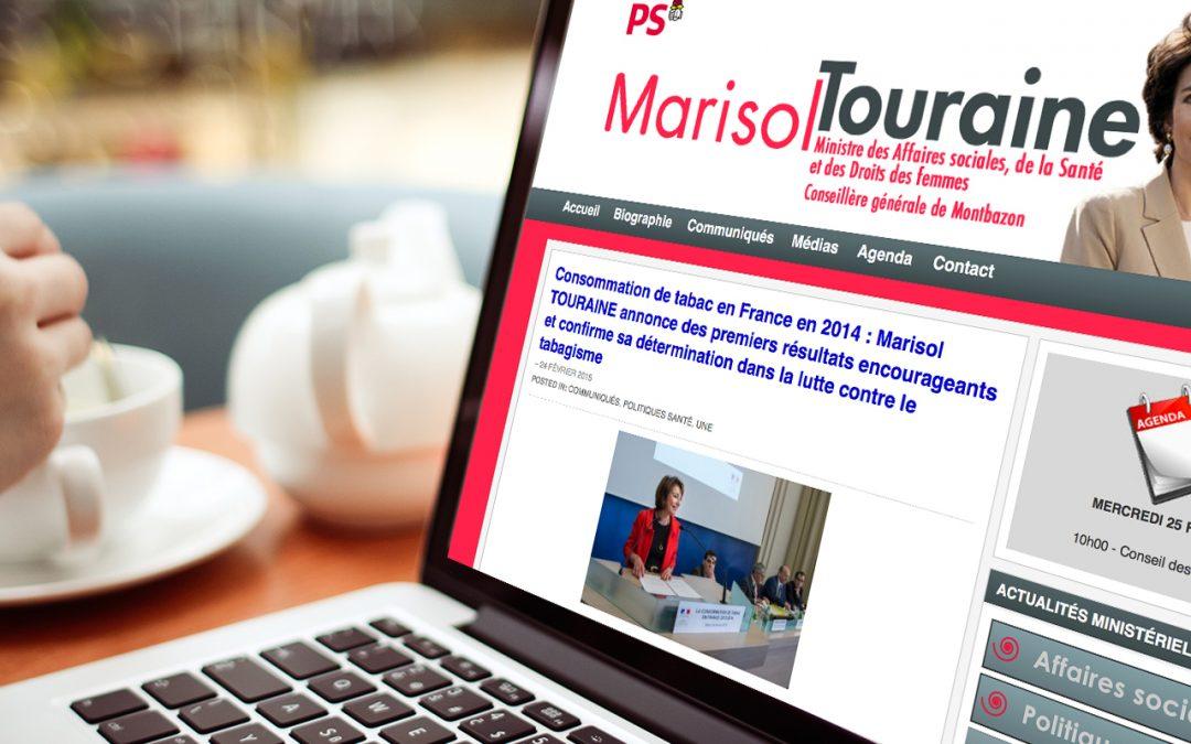 Commentaires sur le blog Marisol Touraine