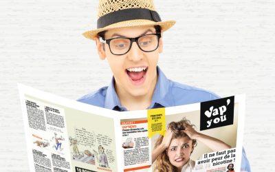 Les pros au RDV pour VAPYOU «papier» : pari réussi !