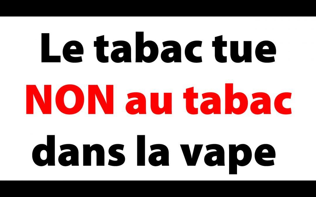 ne pas acheter une e-cigarette en bureau de tabac