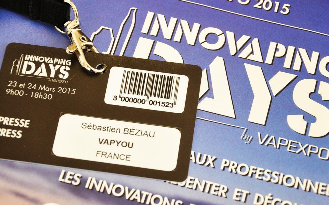 Innovaping Days, business de la vape mais encore ?