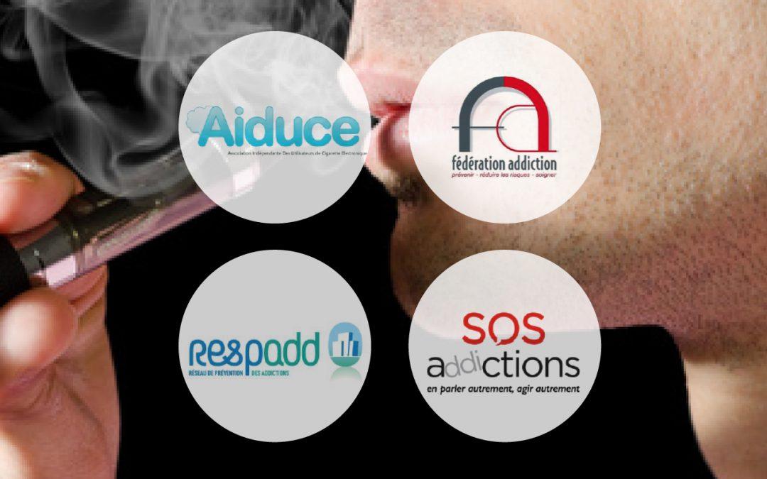 4 associations interpellent l'état sur la e-cigarette