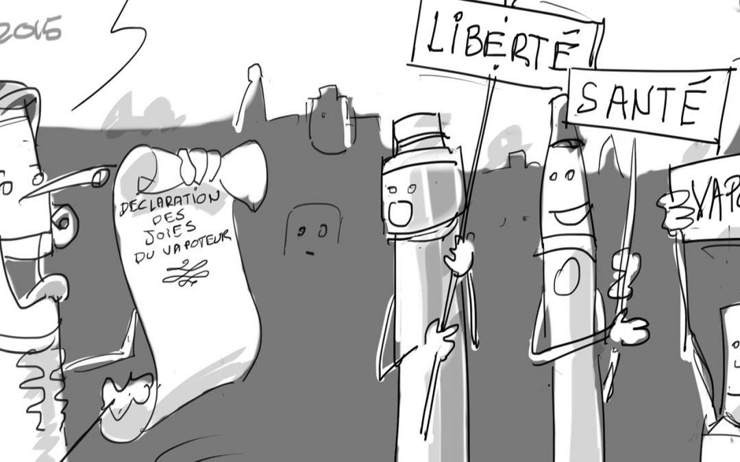 Cagnotte citoyenne : Mille messages pour la vape