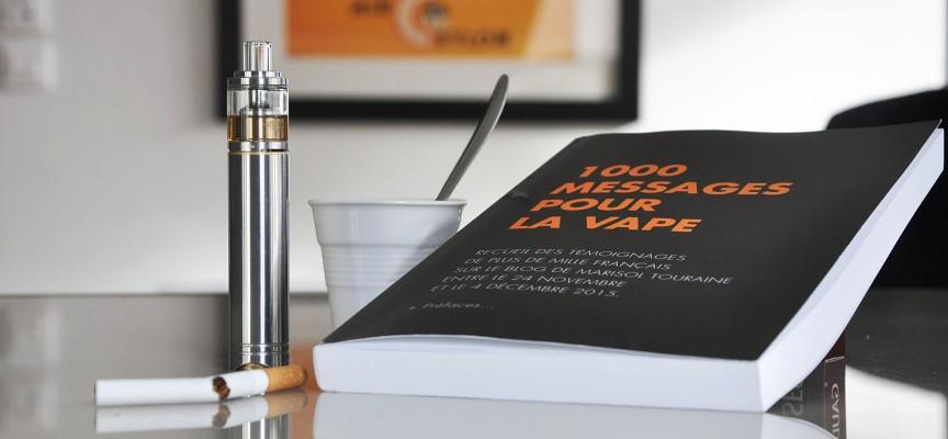 Livre: 1000 messages pour la vape