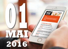 Vap'News : 1er mai 2016
