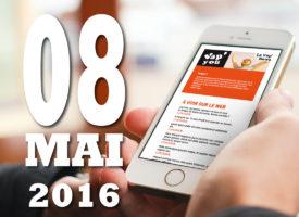 Vap'News : 8 mai 2016