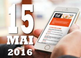 Vap'news : 15 mai 2016
