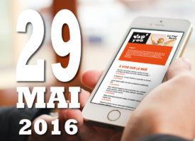 Vap'News : 29 mai 2016