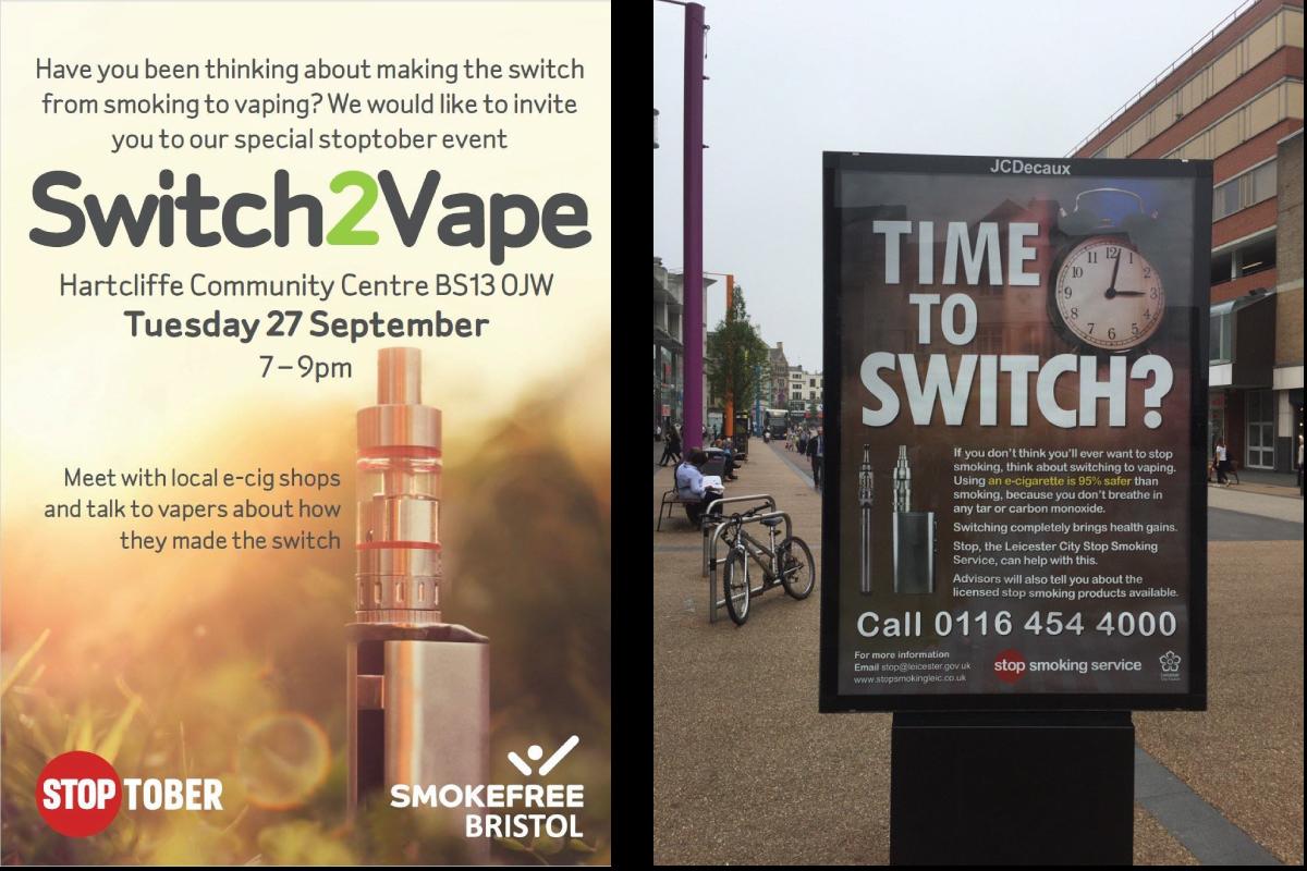 Cigarette électronique et mois sans tabac en France
