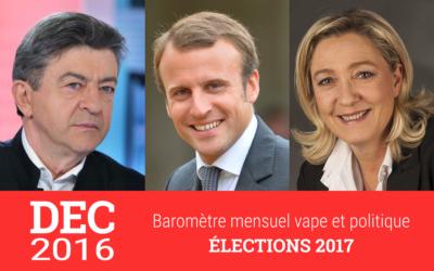 Élection 2017 : les trois grands outsiders pourraient-ils gagner des voix avec les vapoteurs ?