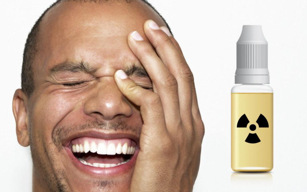 Flacons de e-liquides pour e-cigarette à 10 ml maxi