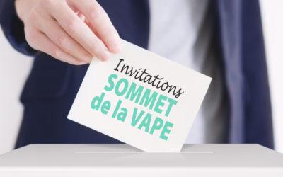 TIME LINE : invitations des politiques au 2e Sommet de la Vape