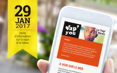 Vap'News : 29 janvier 2017