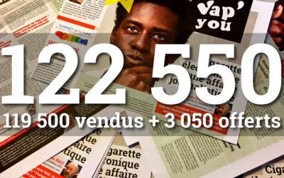 Le magazine VAPYOU N°5 arrive avec nouveau record de diffusion !
