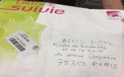 Lettre ouverte à Agnès BUZYN pour l'envoi du livre Mille messages pour la vape