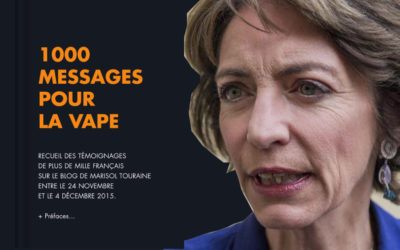 Marisol Touraine s'en va et elle entre dans l'histoire de la cigarette électronique