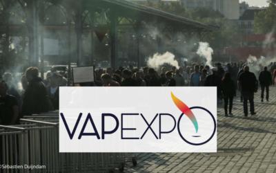 Rendez-vous au Vapexpo Paris les 24 et 25 septembre !