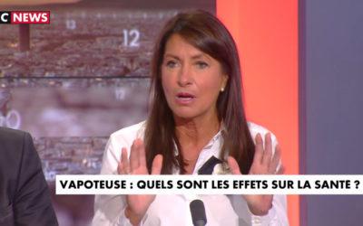 Docteur Brigitte MILHAU sur la cigarette électronique : infraction au code de la santé publique (art. 13) ?