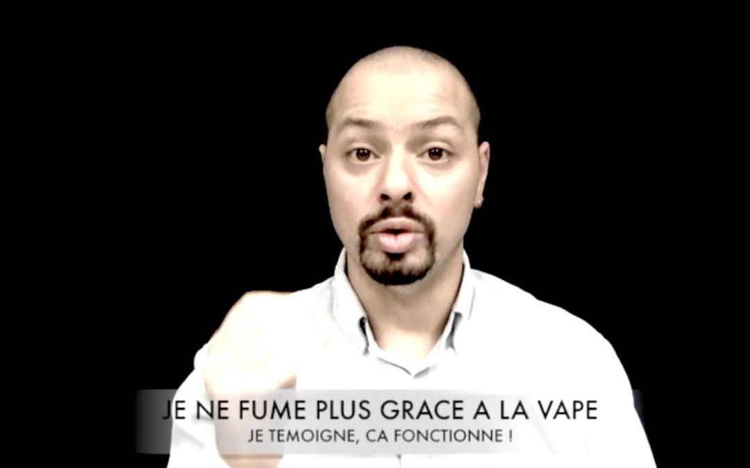 Mickael HAMMOUDI appelle les vapoteurs à témoigner