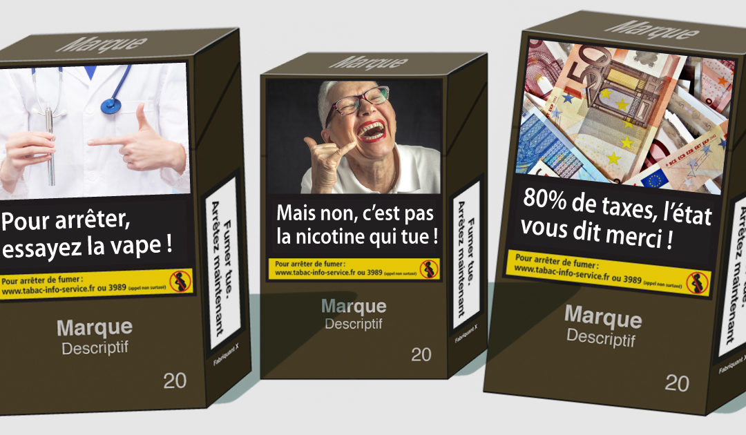 messages sur les paquets de cigarette vape nicotine et taxes. Black Bedroom Furniture Sets. Home Design Ideas