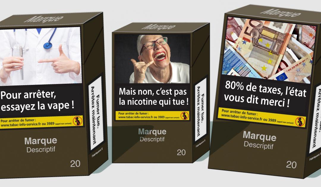 Nouveaux messages sur les paquets de cigarettes !