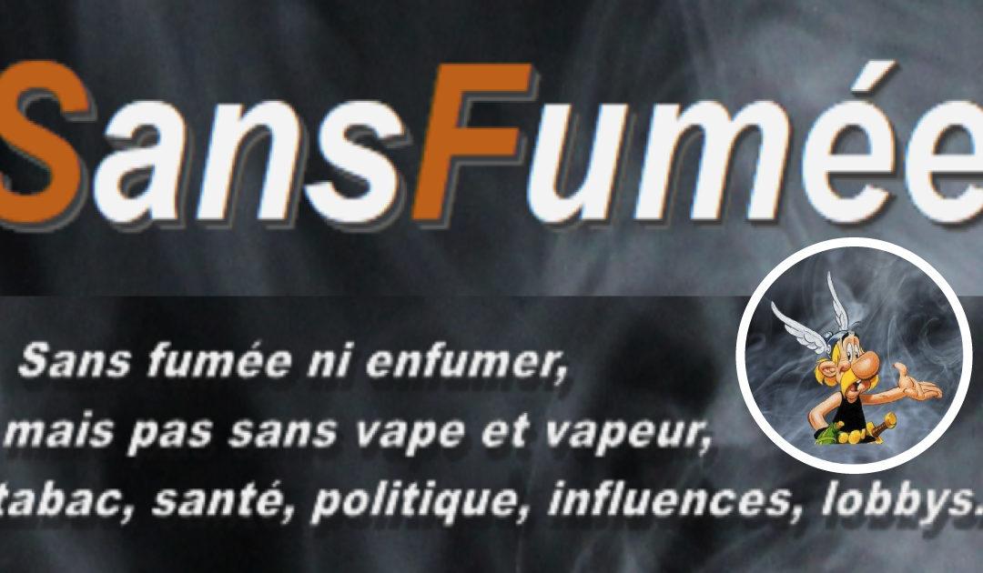 SansFumée : un nouveau blog sur la vape, ou presque…