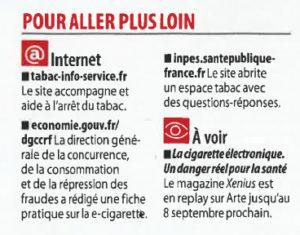XENIUS, la cigarette électronique un danger réel pour la santé