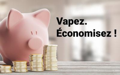 Sondage : plus de 80% des vapoteurs estiment que vaper coûte moins cher que fumer