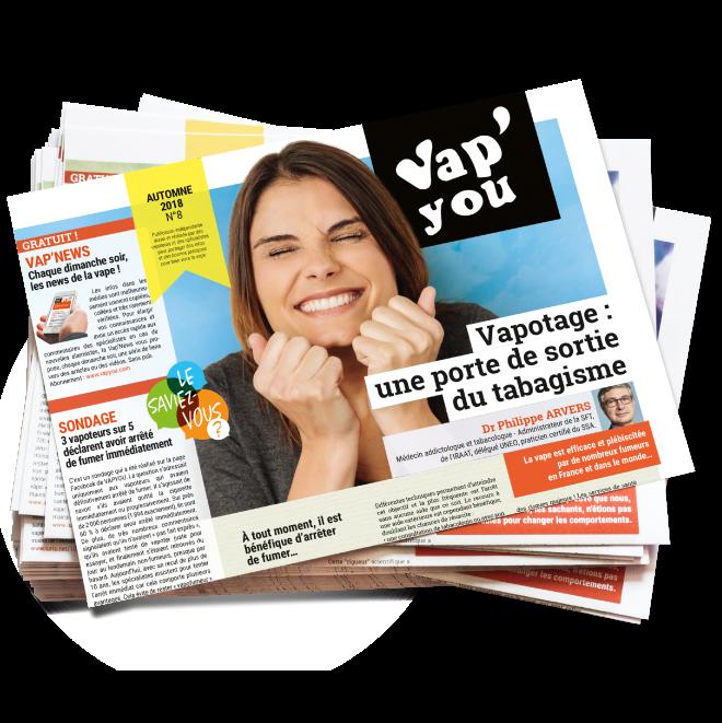 Magazine Vapyou sur la cigarette électronique