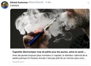 Fake news vape par Gérard Audureau