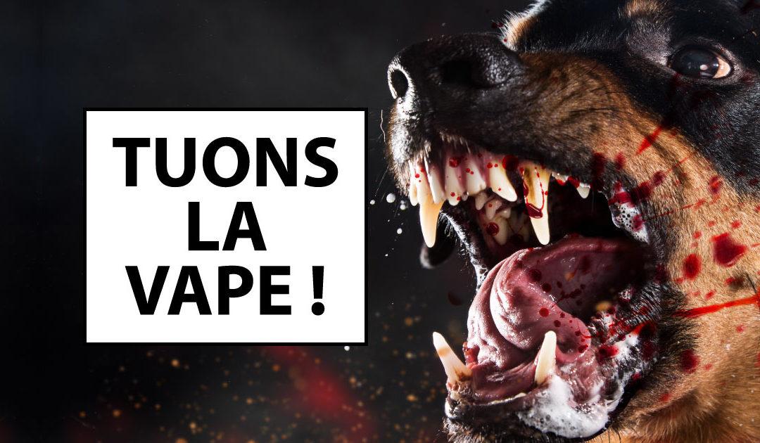 AFP et Alliance Contre le Tabac veulent tuer la vape