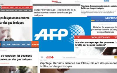 Propagande anti-vape de l'AFP : combien de morts sur la conscience ?