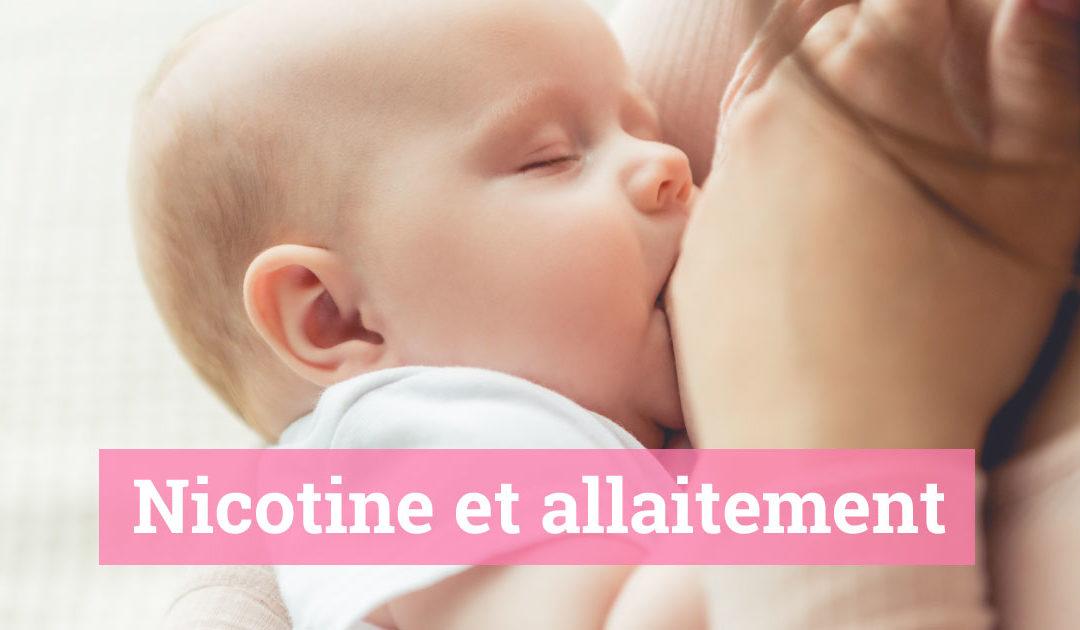 L'allaitement pour les femmes qui fument ou qui vapotent