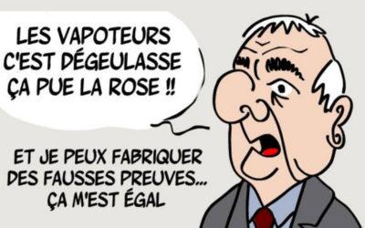 Droits des non-fumeurs / Gérard Audureau : fake, mensonges et vidéo