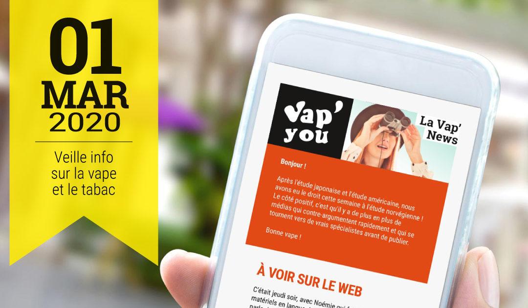 Cigarettes à 10€ Vap'News