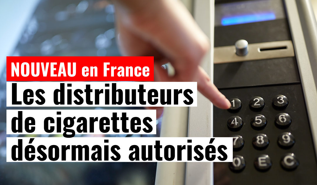 distributeurs de cigarettes