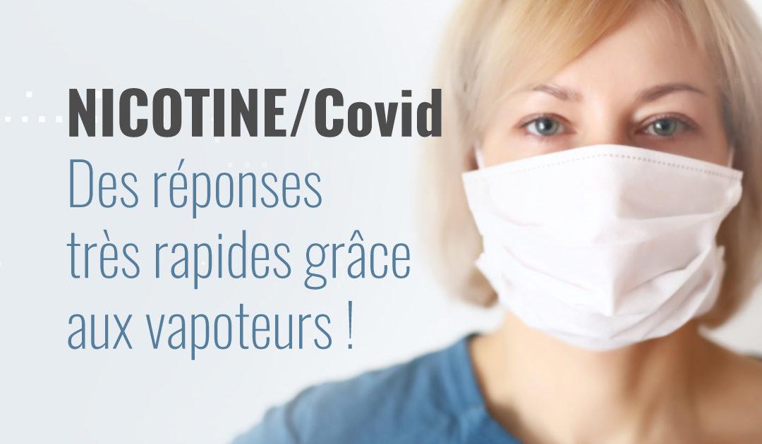 Enquête vapoteurs sur la nicotine et le Covid-19