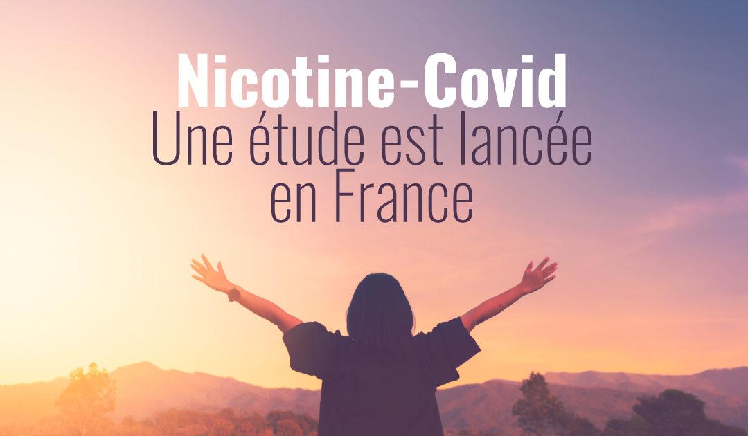 Étude française nicotine et Covid-19