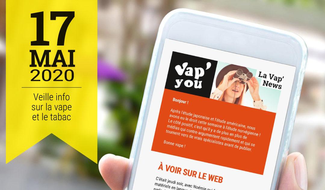 Vap'News, anti-tabac et vapotage