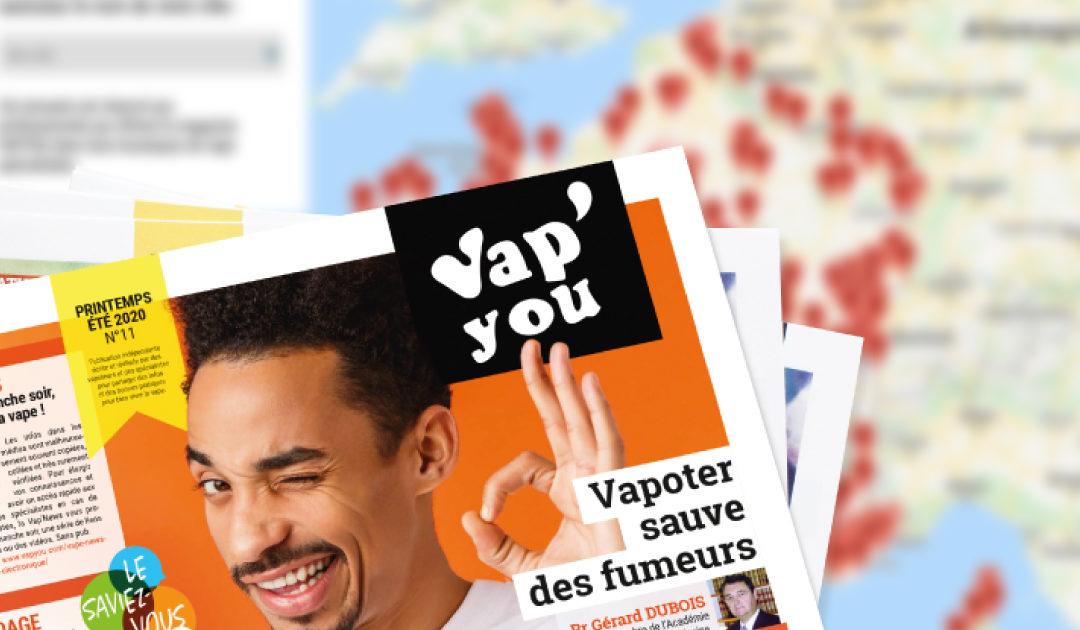 Important : magazine et annuaire VAPYOU