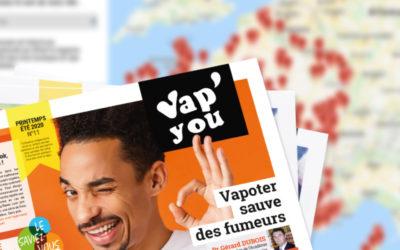 Messages importants : magazine et annuaire VAPYOU