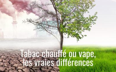 Vape ou tabac chauffé : pour arrêter de fumer, que choisir ?