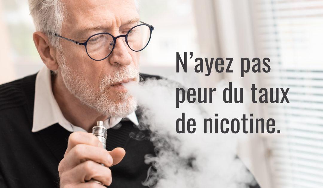 Taux de nicotine, intensité ou quantité