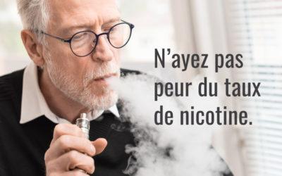 Nicotine et vapotage : quantité ou intensité ?