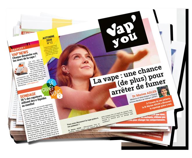 Magazine Vapyou sur la e-cigarette