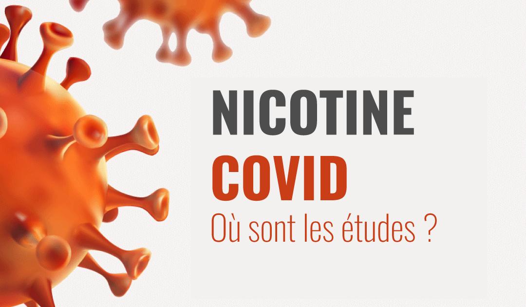 Étude sur l'effet protecteur de la nicotine face au Covid