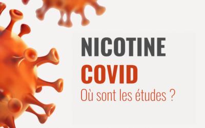 Covid et nicotine : où en sommes-nous ?